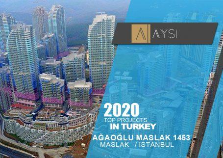فروش واحد 311 متری 4 خوابه / استانبول                                       مجتمع  Ağaoğlu Maslak 1453      اطلاعات کامل در لینک زیر