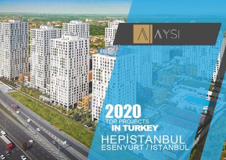 فروش واحد 157 متری 3 خوبه / استانبول                                             مجتمع HEPİSTANBUL           اطلاعات کامل در لینک زیر