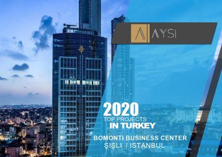 فروش واحد 225 متری اداری – 5 اتاق / استانبول                                       مجتمع Bomonti Business Center       اطلاعات کامل در لینک زیر