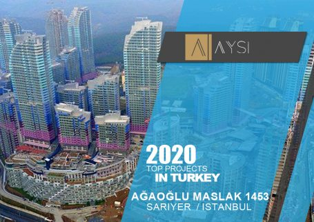 فروش واحد 138 متری 2 خوابه مبله / استانبول                                  مجتمع  Ağaoğlu Maslak 1453      اطلاعات کامل در لینک زیر
