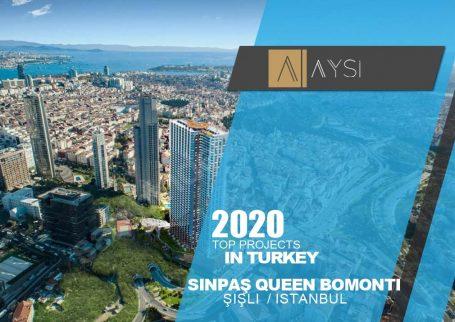 واحد 84 متری 1 خوابه مبله / استانبول                                               مجتمع  Sinpaş Queen        اطلاعات کامل در لینک زیر
