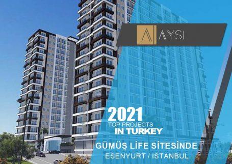 اجاره واحد 95 متری 2 خوابه / استانبول                                                      مجتمع GÜMÜŞ LİFE SİTESİNDE      اطلاعات کامل در لینک زیر