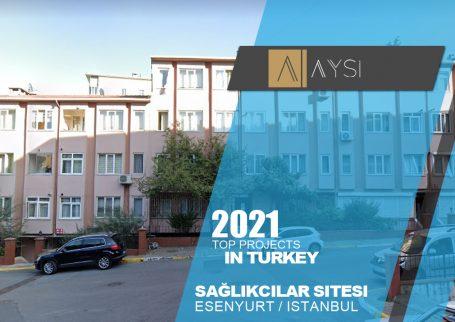 فروش واحد 95 متری 2 خوابه / استانبول                                           مجتمع sağlıkcılar sıtesı        اطلاعات کامل در لینک زیر
