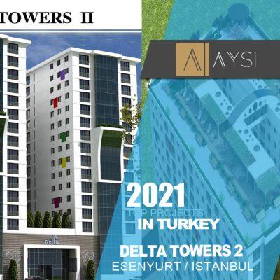 فروش واحد 80 متری 1 خوابه / استانبول                                           مجتمع Delta Towers 2        اطلاعات کامل در لینک زیر