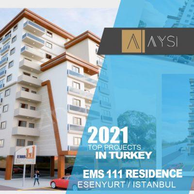 اجاره واحد 112 متری 2 خوابه مبله / استانبول                                           مجتمع EMS111 Residence        اطلاعات کامل در لینک زیر