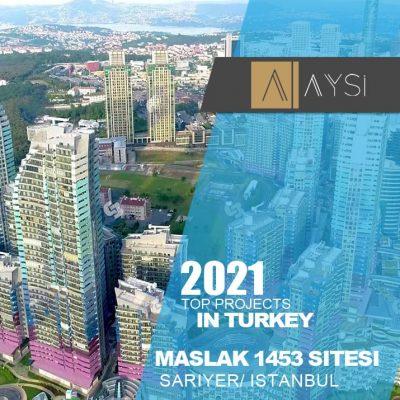 اجاره واحد ۱۳۵ متری ۲ خوابه مبله/استانبول                                      مجتمع Maslak 1453             اطلاعات کامل در لینک زیر